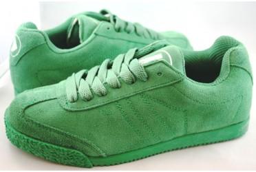 Phantom Suede Neon Green