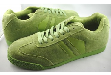 Phantom Suede Neon Lime Green