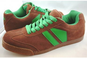 Phantom Suede Brown/Green
