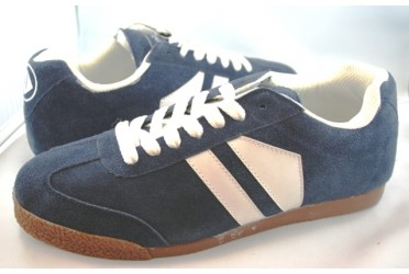 Phantom Suede Navy/White