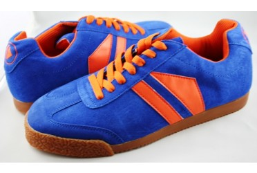 Phantom Suede Royal/Orange