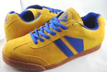 Phantom Suede Yellow/Royal