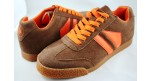 Phantom Suede Brown/Orange