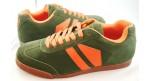 Phantom Suede Green/Orange